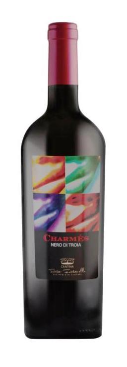 Charmes-Vino di uve nero di Troia