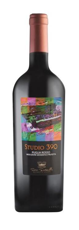 Studio 390-Vino di uve Montepulciano