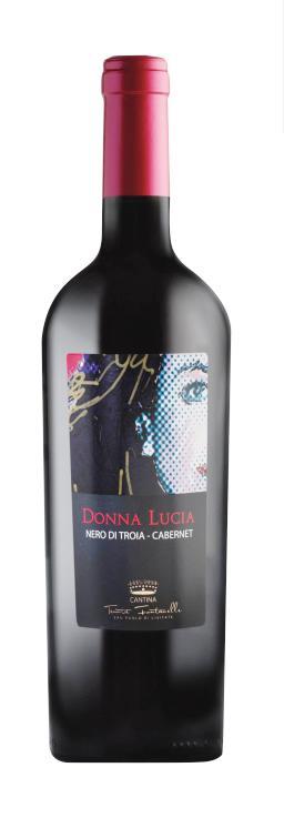 Donna Lucia-Vino di uve Nero di Troia, Cabernet/Sauvignon